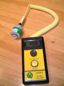 Oxygen Analyser - Dive Phuket Today