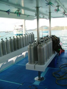 South Siam 1 Dive Deck