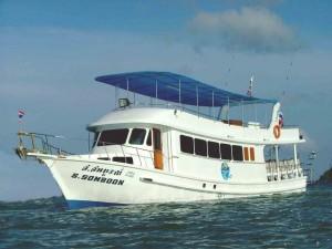 South Siam - Day Trip Boat