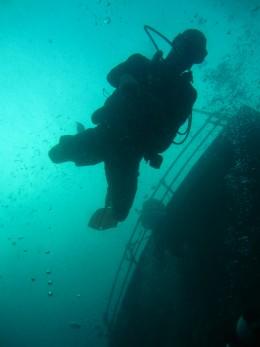 Wreck Diving - Racha Yai
