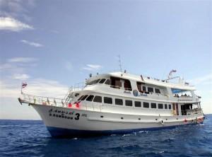 MV South Siam 3 - Crociera subacquea alle Isole Similan in Tailandia