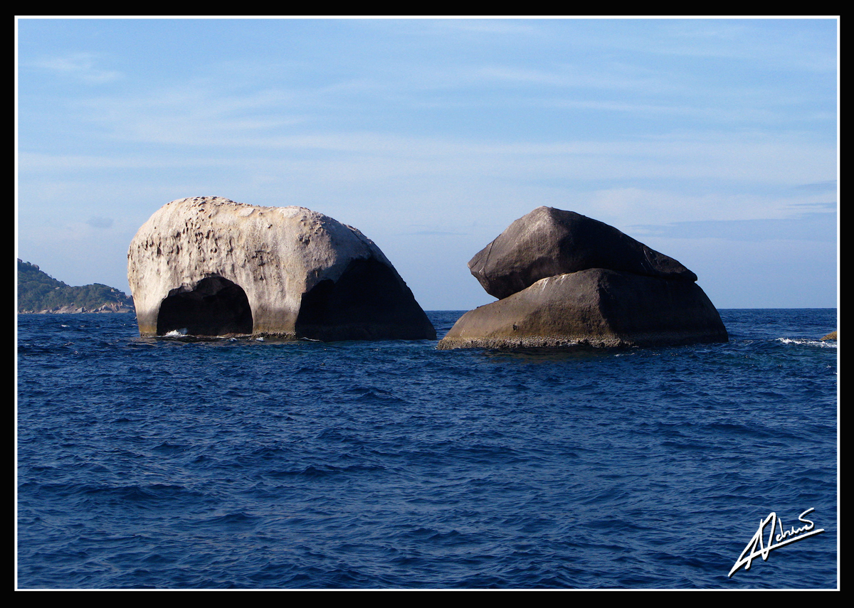 Elephant Head Rock – Similan Islands